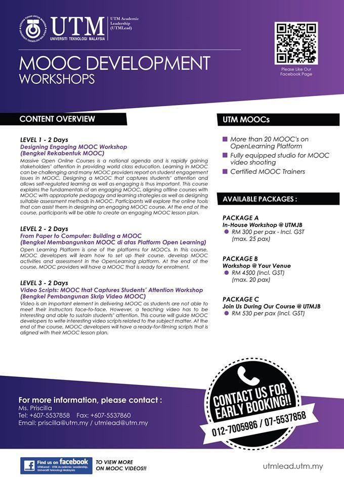 MOOC Development Pakej